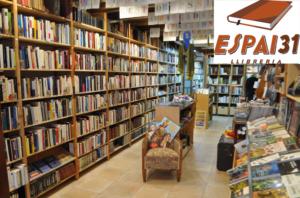 Logotip llibreria Espai31